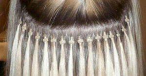 Extensiones de cabello de punto